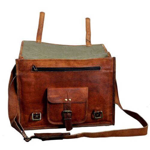 Business en pour Sac Work Vintage cuir à Briefcase Messenger bandoulière hommes Laptop dtshQrC