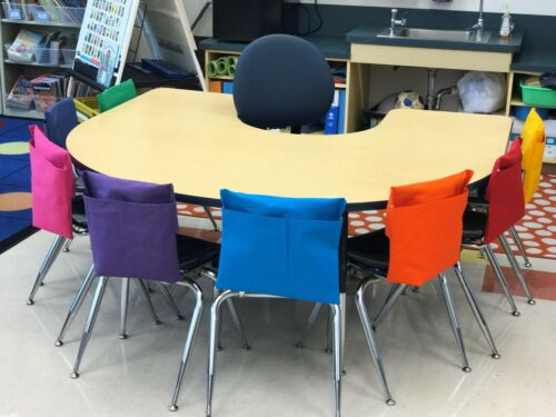 """1 LARGE SEAT SACK CHAIR POCKET  Fits Chairs 15/"""" WIDE or Smaller Many Colors"""