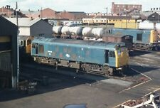 Original Colour slide, Class 25, 25128, Ayr AY, Jul 80, BR Blue