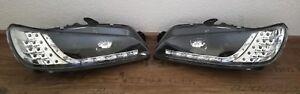 Tagfahrlicht-Optik-Scheinwerfer-Peugeot-306-mit-Led-Blinker-schwarz