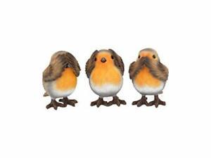 Three-Wise-Robins-Sea-Hear-Speak-No-Evil-Birds-Figurines-Decor-Set-of-3