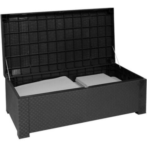 "Shaf Auflagenbox in Polyrattan Optik /""Cofre/"" Gartenbox Gartentruhe Kissenbox Box"