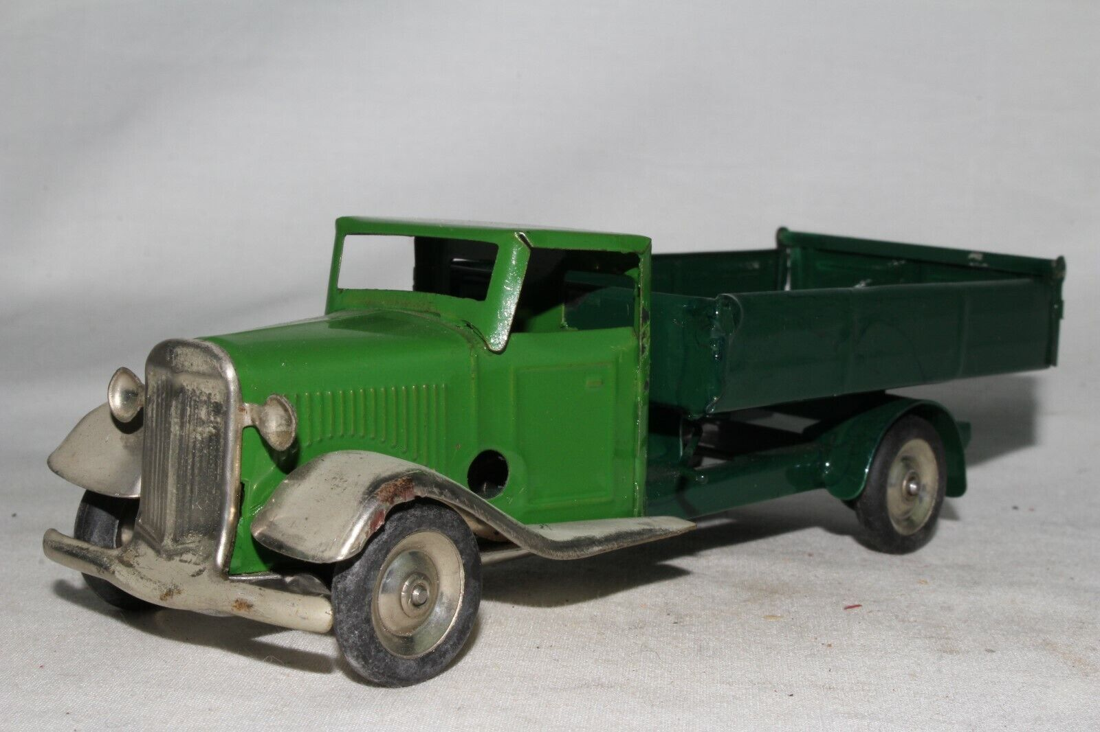 Triang Minic década de 1940 Camión, luz verde Cab, agradable Original