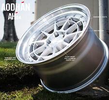 18X10.5 +30 Aodhan Ah04 5X100 Silver WHEELS Fits Fr-S Gt86 Brz Wrx Wagon STANCE