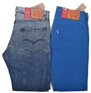 Levi-039-s-502-Men-039-s-59-50-Regular-Taper-Denim-Jeans-Choose-Color-amp-Size