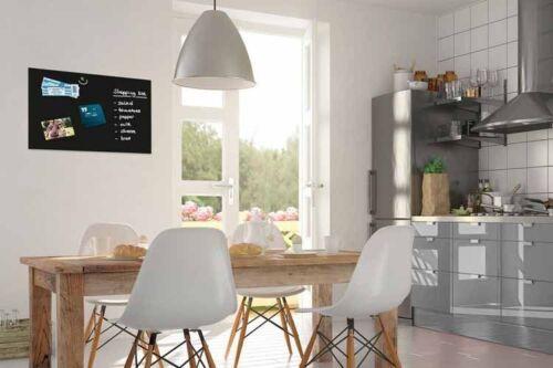 B-Ware Be!Board Glas Magnettafel B1201 Whiteboard Board Magnet Tafel schwarz