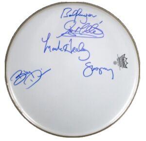 Badfinger Signed Drum Bad Finger Autographed Drumhead