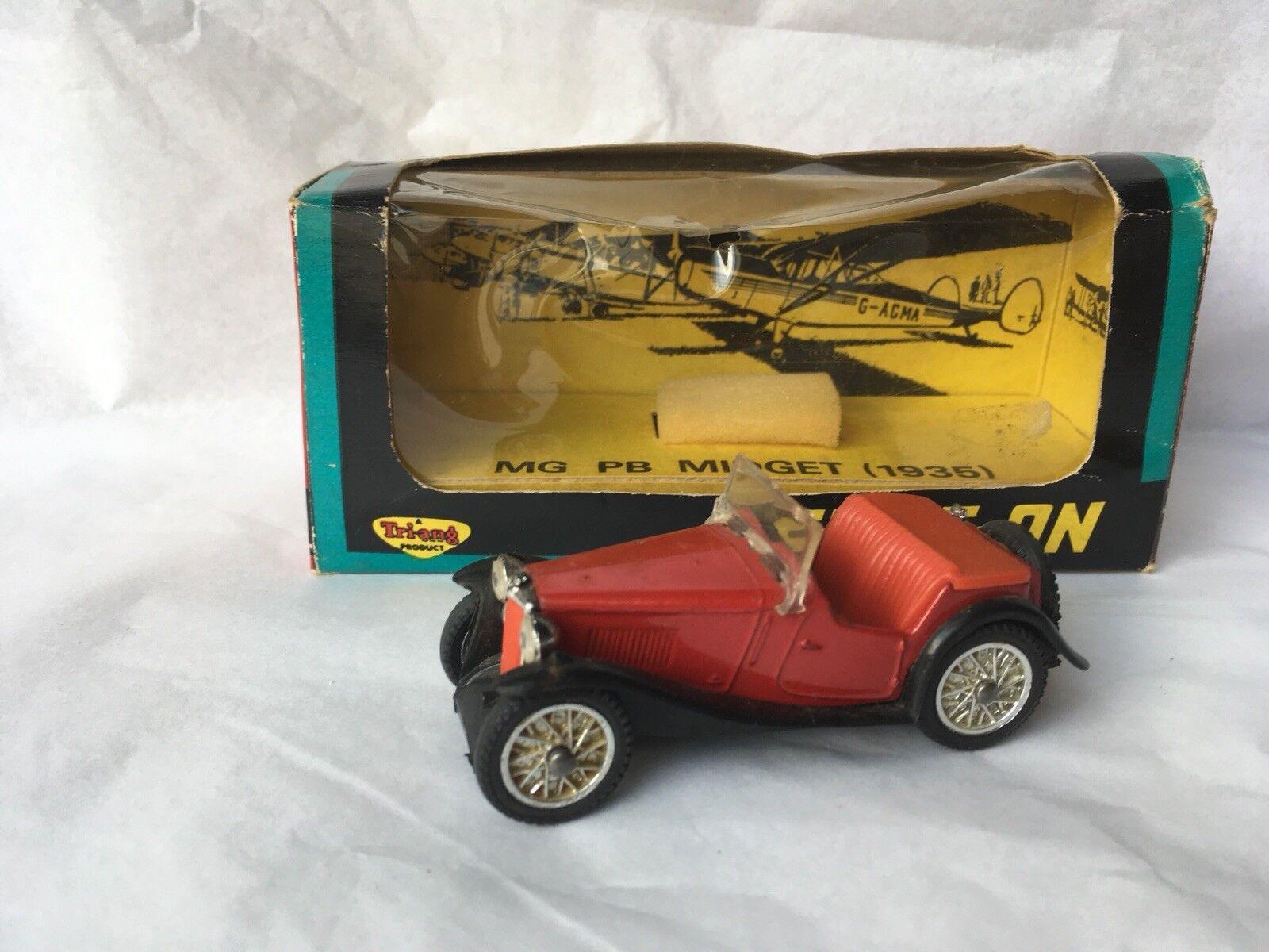 Spot-On 279 MG Midget PB (1935), buone condizioni nella scatola originale