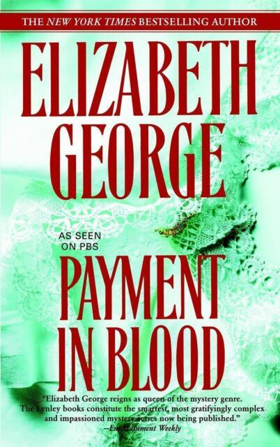 Payment in Blood von Elizabeth George (2007, Taschenbuch)