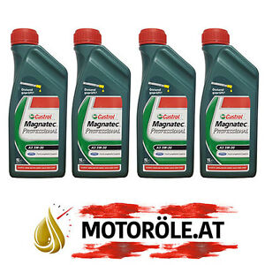 4x1 liter castrol magnatec professional a5 5w 30 ford. Black Bedroom Furniture Sets. Home Design Ideas
