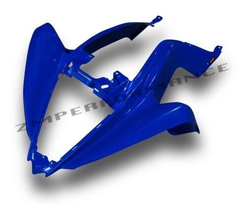 NEW YAMAHA RAPTOR 700 13-18 DARK BLUE PLASTIC CUSTOM FRONT FENDER PLASTICS