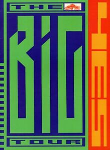 YES-1988-BIG-GENERATOR-WORLD-TOUR-CONCERT-PROGRAM-BOOK-JON-ANDERSON-VG-TO-NMT