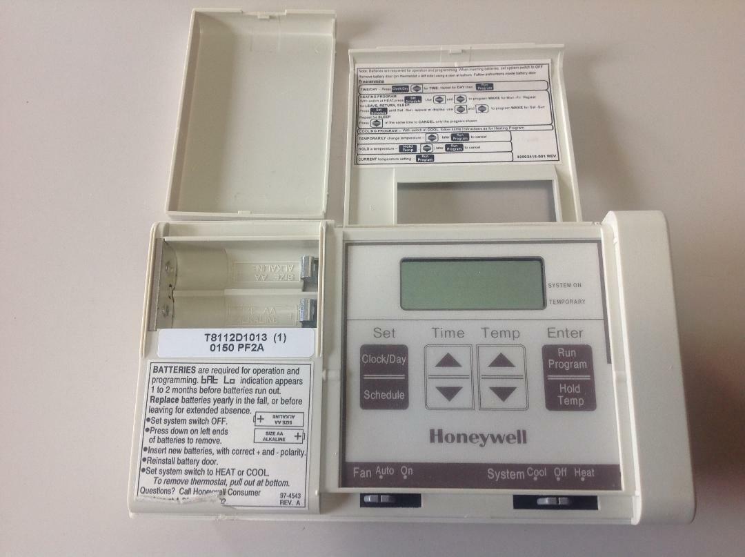 Honeywell magicstat thermostat 97-4543 manual.