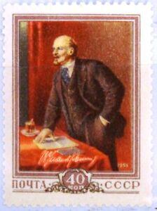 RUSSIA-SOWJETUNION-1956-1829-86-Geb-W-Lenin-Kommunist-Politiker-Communist-MNH