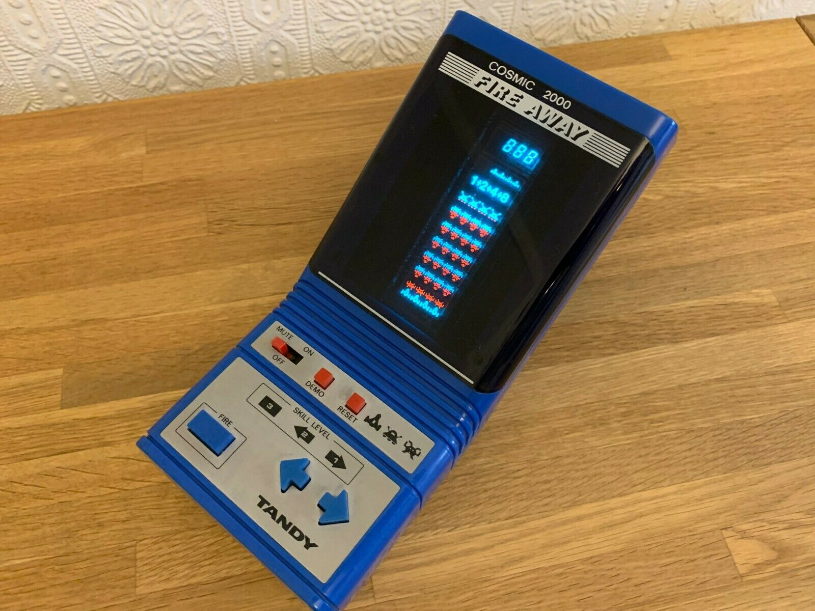 Rare Tandy Cosmic 2000 Fire Away Vintage 1984 Tabletop Electronic Game - Superb