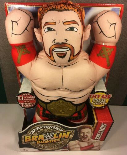 Rare Championship WWE Brawlin Buddies Talking Sheamus Mattel Brand New Collector