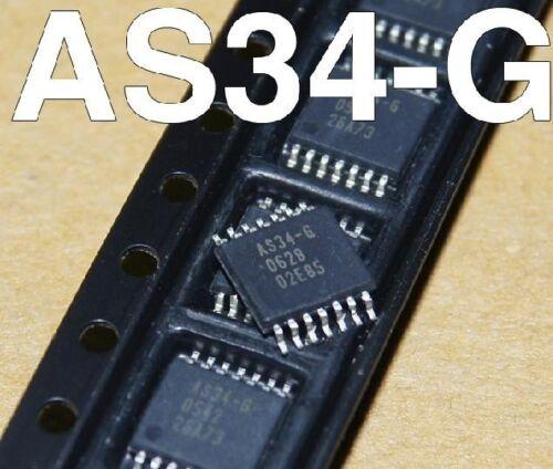 10pcs AS34-G AS34 Genuine SSOP14 New Good Quality