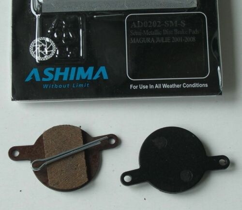Brake pads mtb ASHIMA Semi Metal for all models of Choice!!!