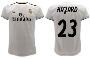 Maglia-Hazard-Real-Madrid-2019-2020-Ufficiale-Blancos-Eden-23-camiseta-official
