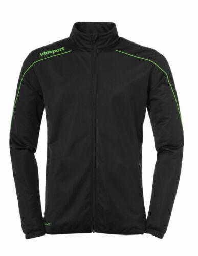 Uhlsport Fußball Stream 22 Classic Jacke Herren Trainingsjacke schwarz grün Fußball