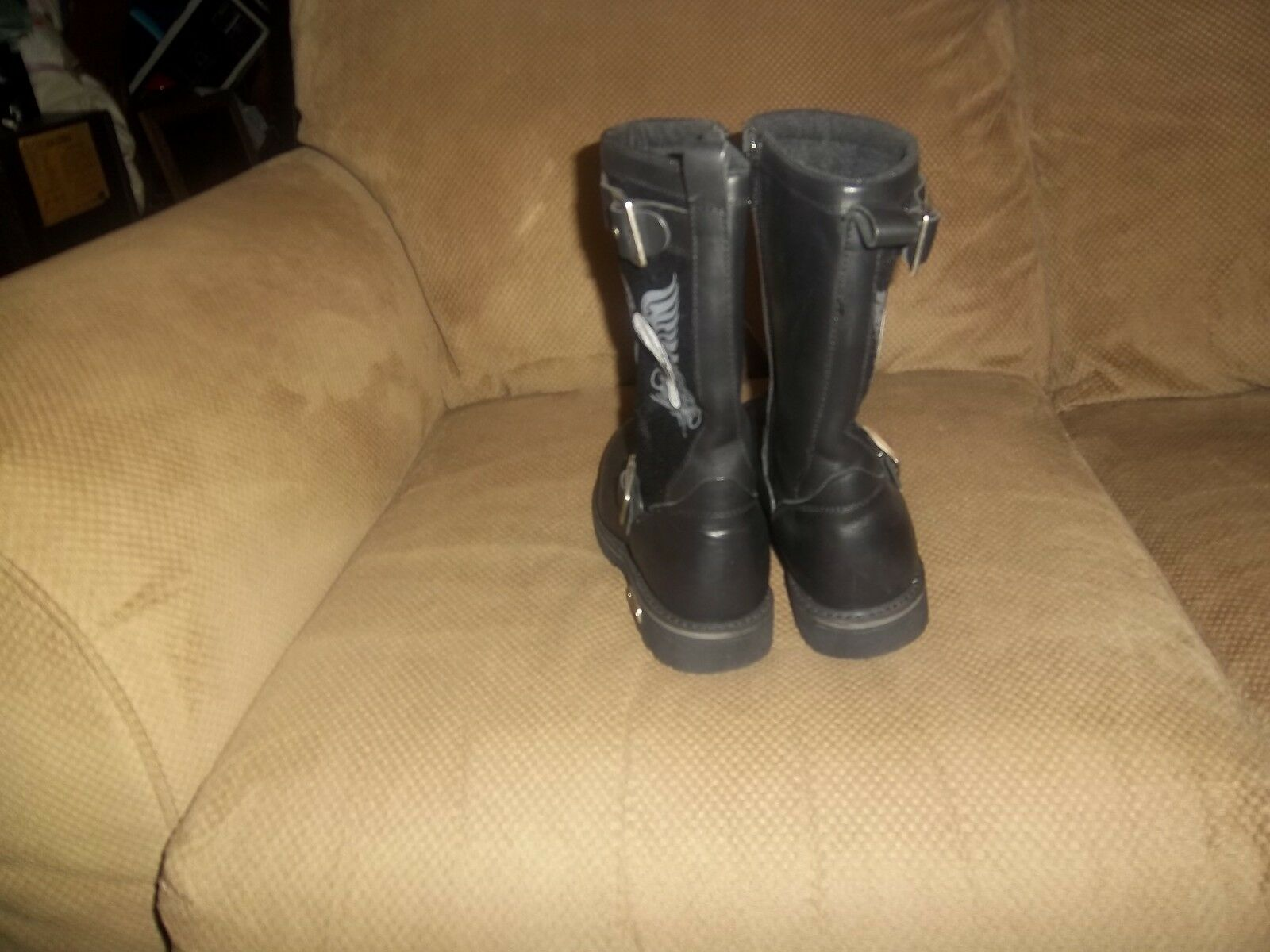 XELEMENT LADIES BIKER STYLE BOOTS size 6 1 1 1 2 3a6288