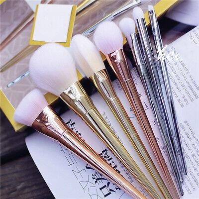 Pro 7pcs Brushes Set Eyeshadow Powder Blush Foundation Makeup Brush Set Tools