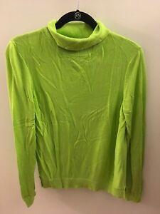 ASOS-Light-Green-Turtleneck-Sweater-Size-12-US-16-UK-44-EU