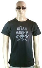 Rare VINTAGE by Bravado Official THE CLASH China Skull Rock Star T-Shirt M/L 50