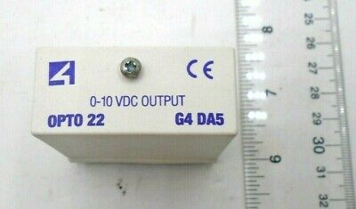 ZEK204 OPTO 22 G4ODC5 Digital DC Output Module 3A 5-60VDC Output 5VDC Logic