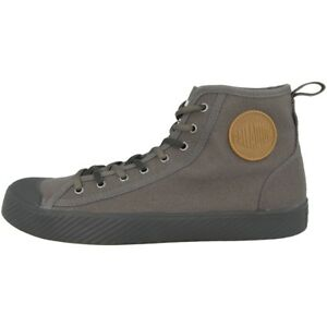 Dark Schuhe High Top Palladium Sneaker Grey 75956 060 Pallaphoenix Canvas Mid nwqFx607C