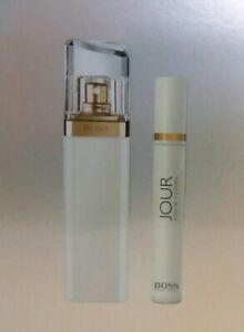 Hugo Boss jour pour femme 50ml Eau de Parfum + 7,4ml bolsillos spray estuche de regalo nuevo