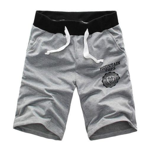 Herren Sommer Shorts Kurz Hose Bermuda Short Knielang Soprtshose Capri Strand HJ