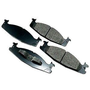 For Ford F-150 E-150 Econoline Club Wagon Front  Ceramic Brake Pads Bronco