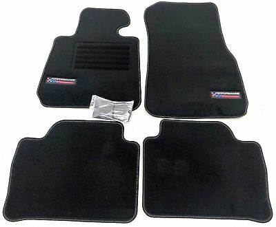 Velours Edition Performance Fußmatten für BMW 3er F30 F31 ab Bj.10//2011