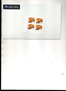 us scott # 3036 $1.00 xf mnhog SA BLOCK OF 4 PLATE # RED FOX 1998