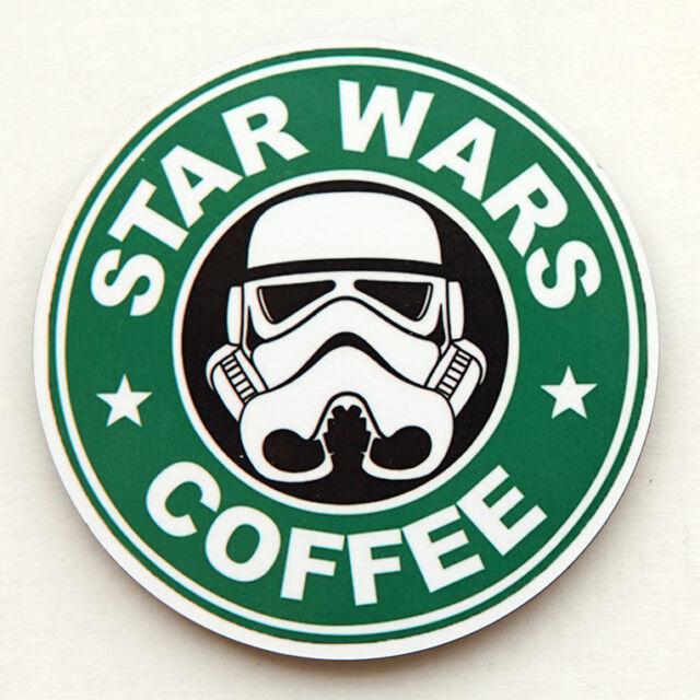 STAR WARS COFFEE ROUND WOODEN COASTER