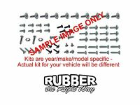 1950 Dodge Interior Screw Kit - 88 Pcs. - 2 Dr Sedan