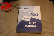 Chevy Pickup 1958 Truck Shop Manual Fits 1958 Chevrolet Truck
