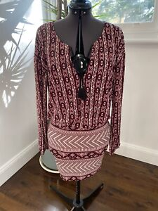 Tigerlily-Boho-Dress-Size-8-EUC-Casual-Beach