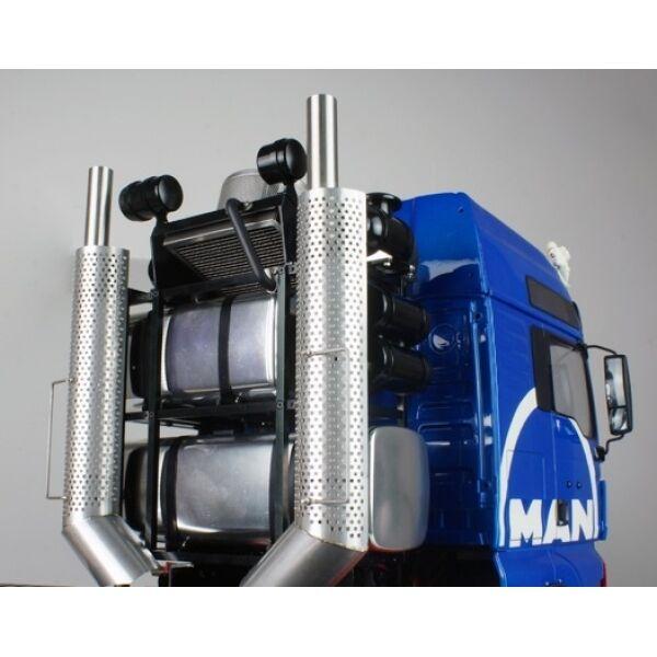 CNC pesanti Hauler TELAIO mod. Kit Per Tamiya 1/14 Scania Man FAI DA TE 6x6 8x8 10x10