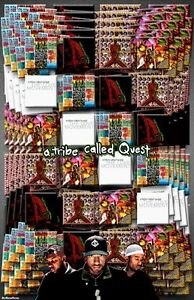"""A TRIBE CALLED QUEST  11x17  /""""Discography/"""" Poster"""