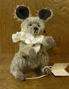 Bears-by-Toop-by-Karen-Badillo-RITZZY-MOUSE-7-034-NEW-from-Retail-Store-Mint-tags