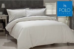 POLO-LUXURY-QUILT-COVER-SET-WHITE-100-COTTON-TAILORED-FINISH