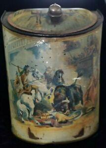 Antique spice ou tea tin Store Display-afficher le titre d`origine 8ZmtUMGN-09164634-507420058