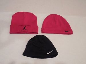 Details about Lot Of 3 Nike Air Jordan Retro Swoosh Infant Baby Crib HATS  Red   Navy 0-9 Month 595f04ae096