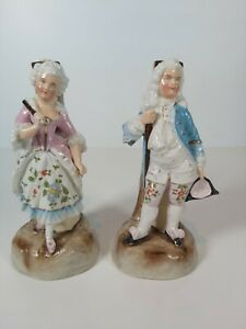 Conta-amp-Boehme-Germany-Figural-Candle-Holders-Appr-15-5cm-Tall
