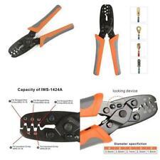 Iwiss Wire Harness Plug Crimping Tool Open Barrel Teminal Crimper For Molex Del
