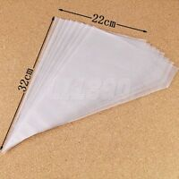 Disposable Icing Piping Pastry Bag Cake Cupcake Decorating Craft 100 Bags