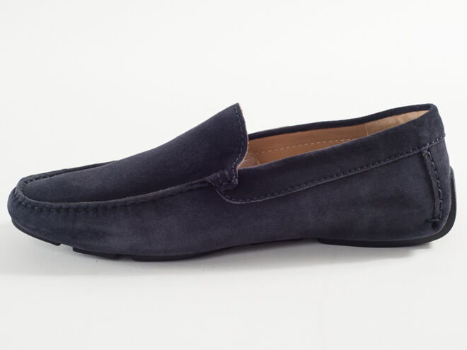 New Iceberg 43 Navy Suede Made in Italy Moccasin Size 43 Iceberg US 10 939ad1