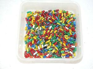 Maerklin-Stecker-Muffen-40-st-gem-alle-Farben-mit-weiss-und-schwarz-28-12stue-100